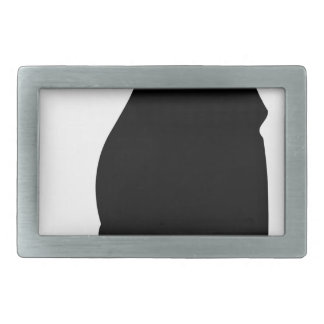 Black Knight Rectangular Belt Buckles
