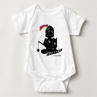 Black Knight (with logos) Baby Bodysuit