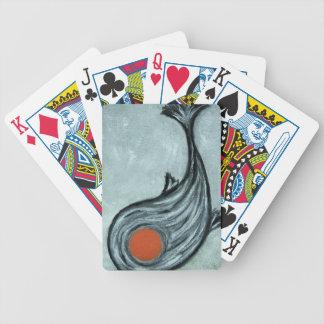 black koi bicycle playing cards