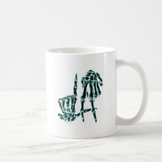 black la coffee mug