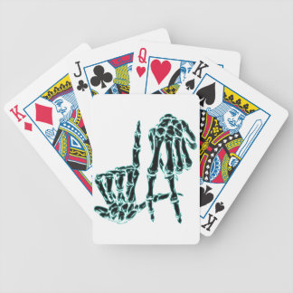 black la poker deck