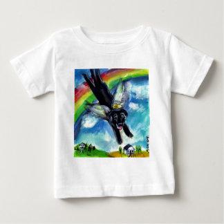 Black lab angel baby T-Shirt