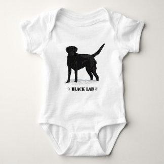 Black Lab Baby Bodysuit