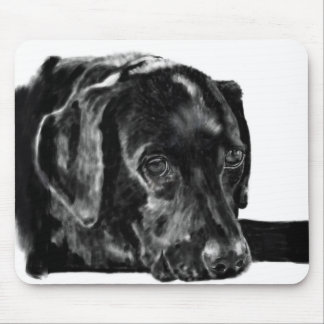 Black Lab called Charley Mouse Pad