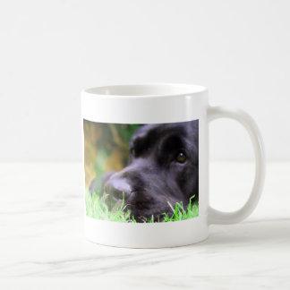 black lab coffee mug