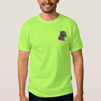 Black Lab Embroidered T-Shirt