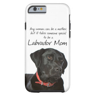 Black Lab Mom iPhone 6 case