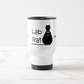 Black Lab Rat Travel Mug