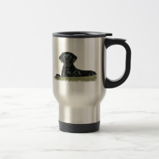 Black Lab Stainless Steel Travel Mug