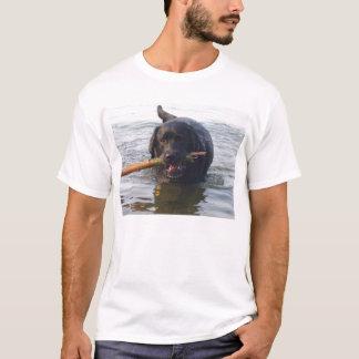 Black Lab Swim T-Shirt