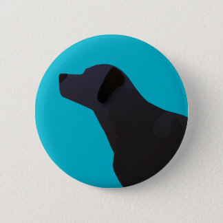 Black Lab Templates Ready to Customize 2 Inch Round Button