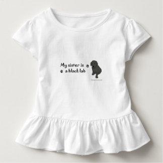 black lab toddler t-shirt