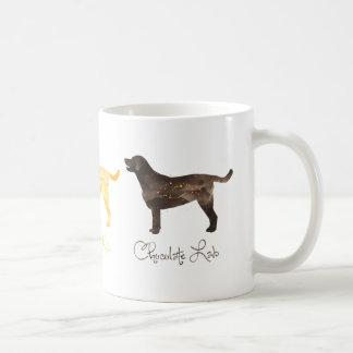 Black Lab Watercolor Coffee Mug