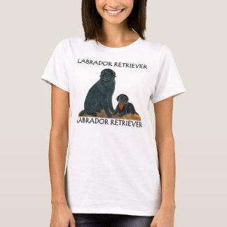 Black Lab with Puppy Shirt