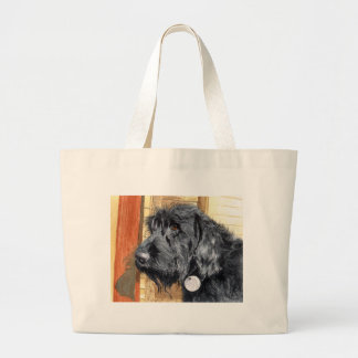 Black Labradoodle #1 Bag