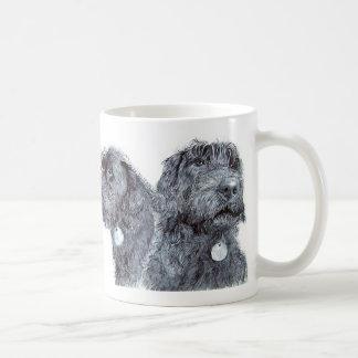 Black Labradoodles Mug