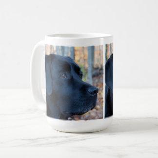 Black labrador - Autumn Glow Coffee Mug