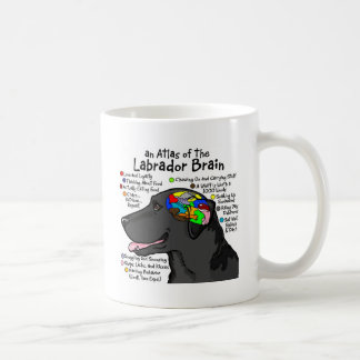 Black Labrador Brain Atlas Coffee Mug