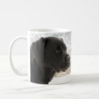 Black Labrador - Gazing Views Coffee Mug
