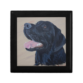 Black Labrador Gift Box