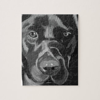 Black Labrador Jigsaw Puzzle