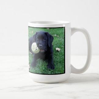 Black Labrador - Play Ball Coffee Mug