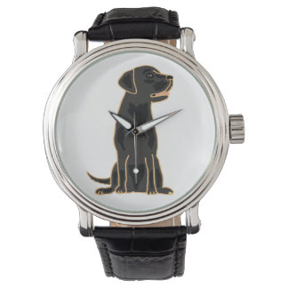 Black Labrador Retriever Art  Watch