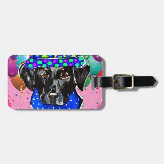 Black Labrador Retriever Bag Tag