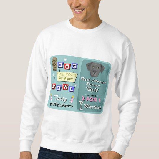 Black Labrador Retriever Bowling Sweatshirt