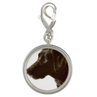 Black Labrador Retriever Charm