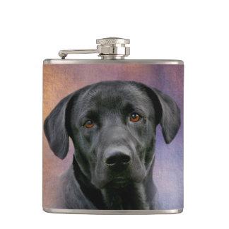 Black Labrador Retriever Flasks