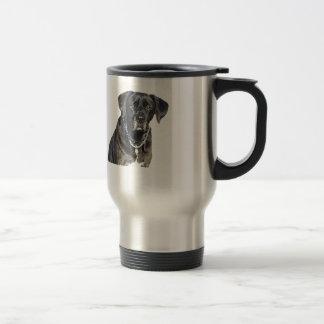 Black Labrador Retriever 15 Oz Stainless Steel Travel Mug