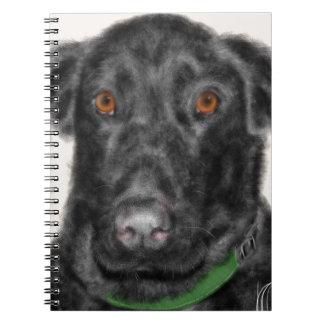 Black Labrador retriever Notebook