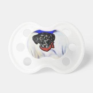 Black Labrador Retriever Pacifier
