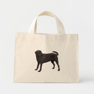 Black Labrador Retriever Tote Bag