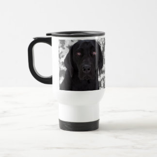 Black Labrador Retriever Travel Mug