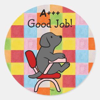 Black Labrador Student 1 Reward Stickers