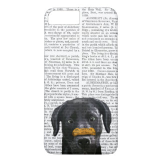 Black Labrador With Bone on Nose iPhone 7 Plus Case