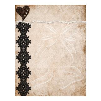 Black Lace Letterhead