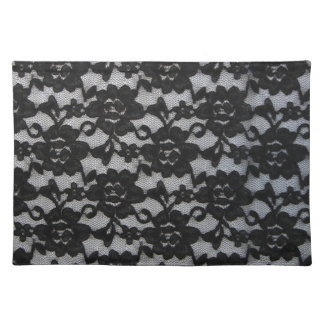 Black Lace Placemat