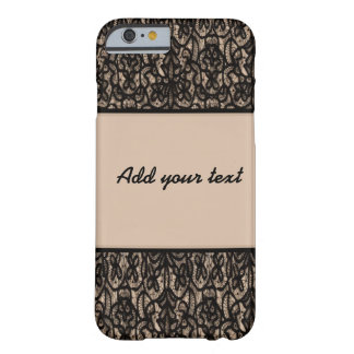 Black lace v4 barely there iPhone 6 case