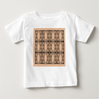 Black lace vanilla / black, beige baby T-Shirt