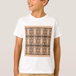 Black lace vanilla / black, beige T-Shirt