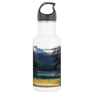Black Lake. Žabljak. Montenegro. 532 Ml Water Bottle