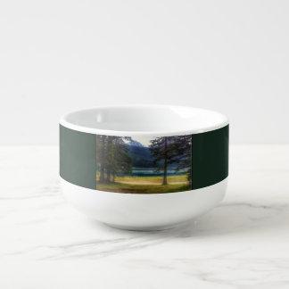 Black Lake. Žabljak. Montenegro. Soup Bowl With Handle