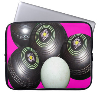 Black_Lawn_Bowls_15_inch_Laptop_Sleeve Laptop Computer Sleeves
