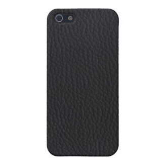 Black leather iPhone 5 cases
