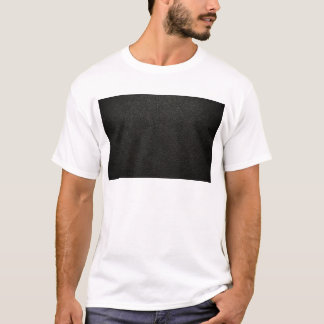 Black Leather Texture Background T-Shirt