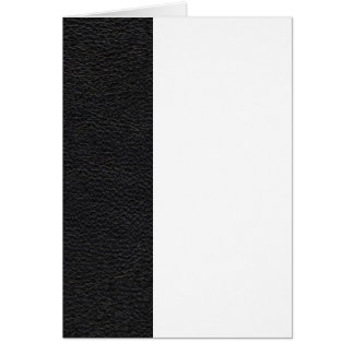 Black Leather Texture Card