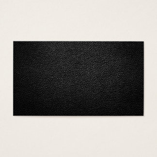 Black Leather Texture For Background Business Card